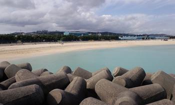 だってこんなビーチが見えるんだもん